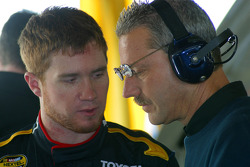 Brian Vickers and crew chief Doug Richert
