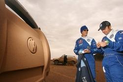 Ari Vatanen and Giniel de Villiers
