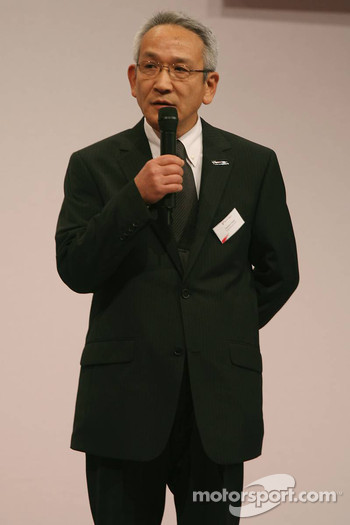 Tsutomu Tomita, Toyota Racing Chairman and Team Principal