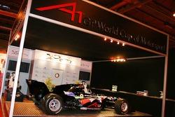 A1 Grand Prix stand