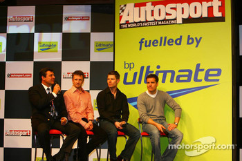 Mark Blundell, Allan McNish, Guy Smith and Johnny Mowlem Le Mans 24hr race drivers