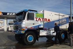 Tomas Tomecek Letka Racing Team: Tomas Tomecek, Vojtech Moravek and Lala Ladislav on their way to Lisbon