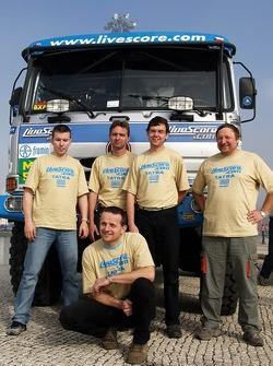 Tomas Tomecek Letka Racing Team: Tomas Tomecek, Vojtech Moravek and Lala Ladislav