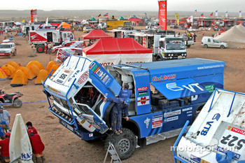 Kamaz-Master team members at work