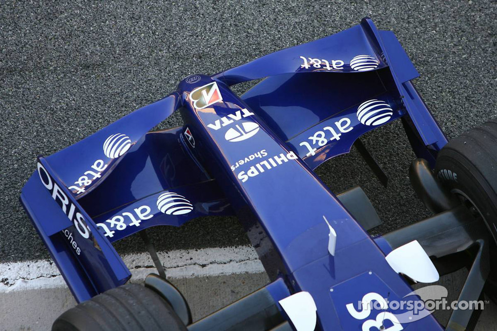 Williams F1 Team FW28-B Toyota front wing detail