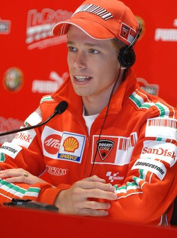 Press conference: Casey Stoner