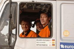 Wolfgang Kellner, Marcus Kettler and Alejandro Sanz