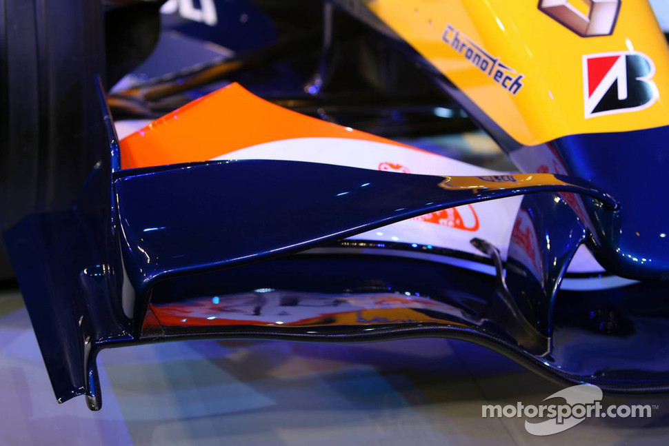 Detail of the Renault R27