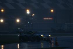 Spin for #65 TRG Porsche GT3 Cup: Murray Marden, Brent Milner, John Peterson, Michael Gomez