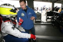 Tomas Scheckter and Ed Carpenter