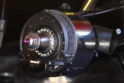 Honda Racing F1 Team RA107 brake system detail