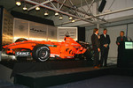 Michiel Mol, Director of Formula One Racing, Spyker and Spyker F1 Team, Victor Muller, Chief Executive Officer of Spyker Cars N.V. and Spyker F1 Team