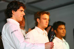 Adrian Valles, Giedo van der Garde and Fairuz Fauzy