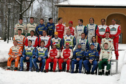 Drivers group portrait