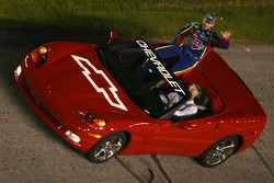Drivers parade: Kyle Busch