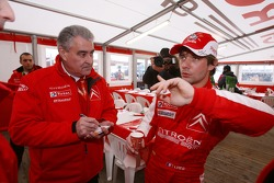 Guy Frequelin and Sébastien Loeb