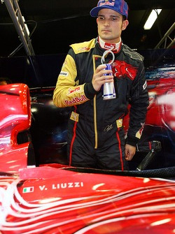 Vitantonio Liuzzi with the new STR2