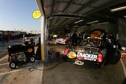 Garage activity at 8:00 AM