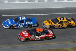 Carl Edwards, Ryan Newman and Matt Kenseth