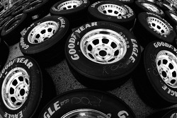 Good Year tires ready for the race