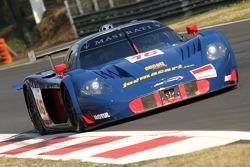 JMB Racing Maserati MC 12: Macari, Aucott, Newey