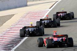 Red Bull Racing and Scuderia Toro Rosso photoshoot: Scott Speed, David Coulthard, Mark Webber and Vitantonio Liuzzi