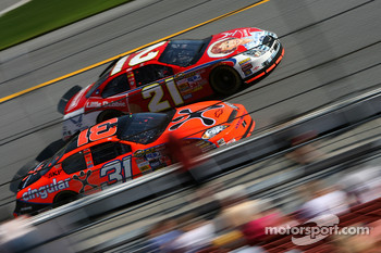 Jeff Burton and Ken Schrader