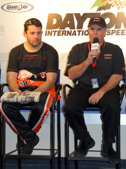 Tony Stewart and Rick Howard