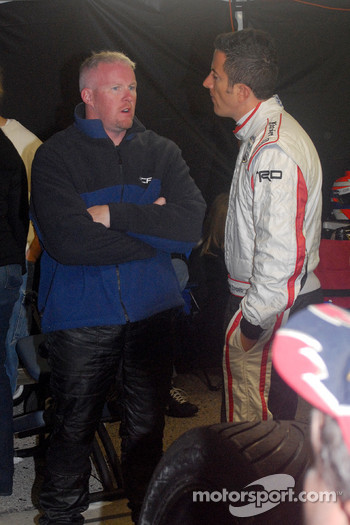 Paul Tracy and Henri Zogaib