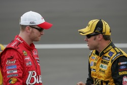 Dale Earnhardt Jr. and Matt Kenseth