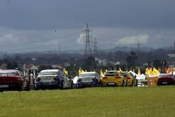 Michel Jourdain, SEAT Sport, SEAT Leon and Luca Rangoni, Proteam Motorsport, BMW 320si WTCC