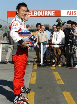 Takuma Sato, Super Aguri F1, Super Aguri F1 Team, SA07, Launch