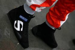 Jarno Trulli's shoes