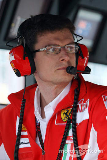 Chris Dyer, Scuderia Ferrari, Race Engineer