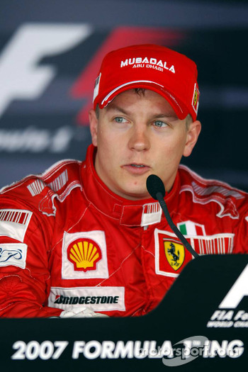 Press conference: race winner Kimi Raikkonen
