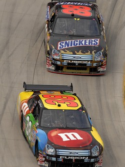 David Gilliland and Ricky Rudd