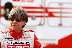 Team TRD co-driver Coral Taylor