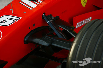 Scuderia Ferrari, F2007, suspension detail