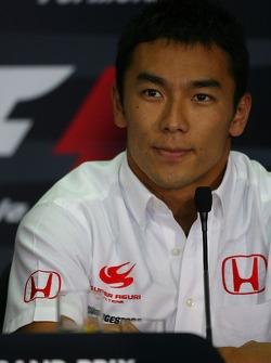 FIA press conference: Takuma Sato, Super Aguri F1