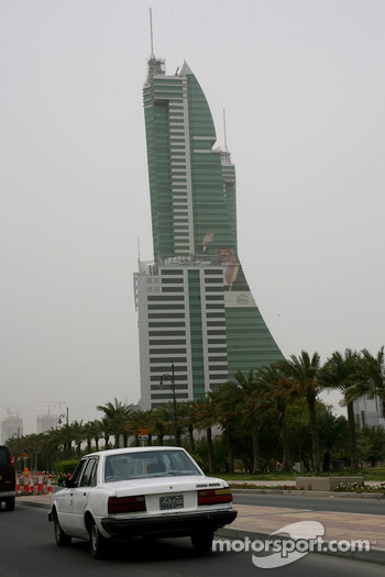 Bahrain city atmosphere