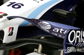WilliamsF1 Team, FW29, front wing detail