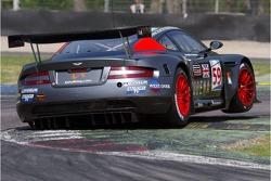 #59 Team Modena Aston Martin DBR9: Antonio Garcia, Liz Halliday
