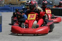 Go-kart celebrity race