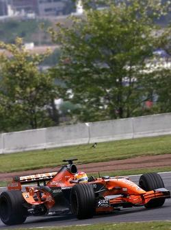Adrian Valles, Test Driver, Spyker F1 Team - Spyker F1 Tea
