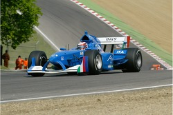 A1 Team Italy Lola A1GP of Enrico Toccacelo