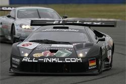 #8 All-Inkl.com Racing Lamborghini Murciélago: Jos Menten, Peter Kox