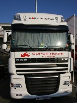 Super Aguri Transporter