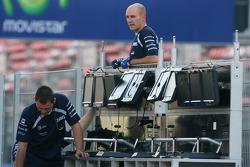 Williams F1 Team, setup