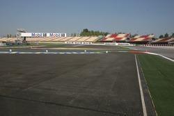 New chicane before the last corner