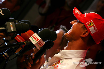 Michael Schumacher, Scuderia Ferrari, Advisor, Press conference